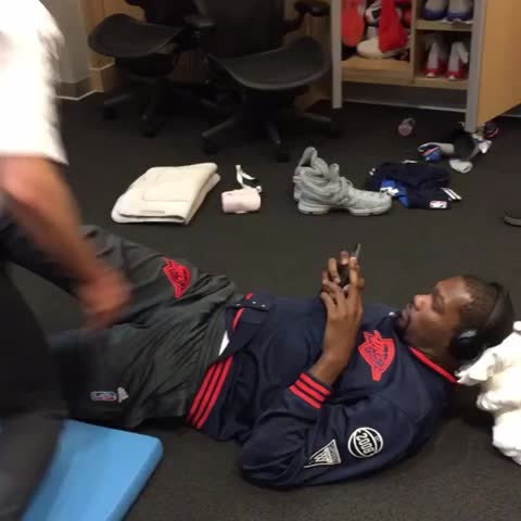 Vine by NBA - KD and Russ getting ???? in