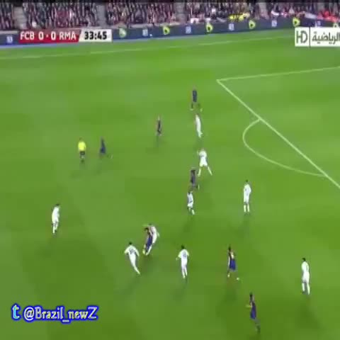 Bridge Kaka against Messi - #brazil #barcelona #real_madrid #milan #skill #panna - Brazil_NewZ on twitters post on Vine