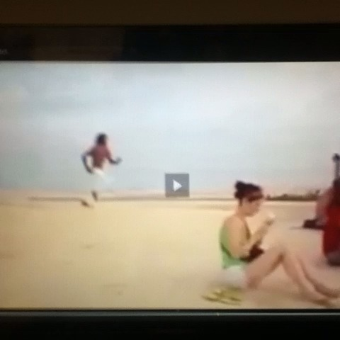 Sand dune backflip man