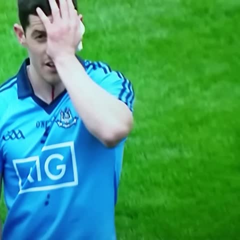Vine by Marcais - Rory OCarroll gushing after NOT being elbowed by OConnor and OShea NOT forearming McMahon #SundayGame @rte