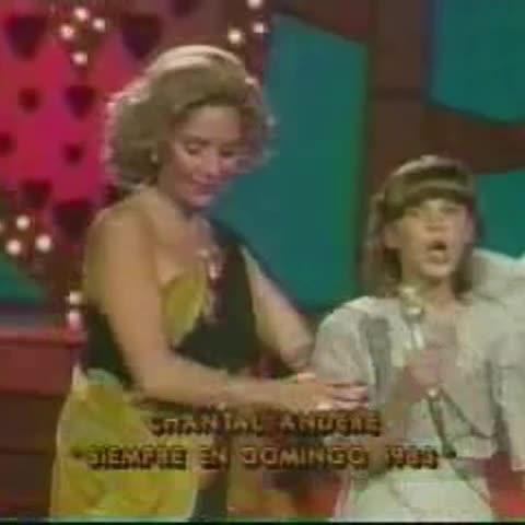 Vine by Fans Club - #ThrowBackThursday in 1983 She so cute 😄❤️ Ms. Senyora Santibañez Santibanez so little girl @chantalandere
