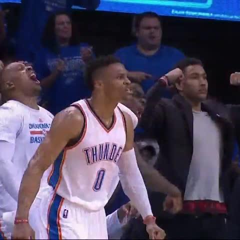 Vine by NBA TV - Russ!