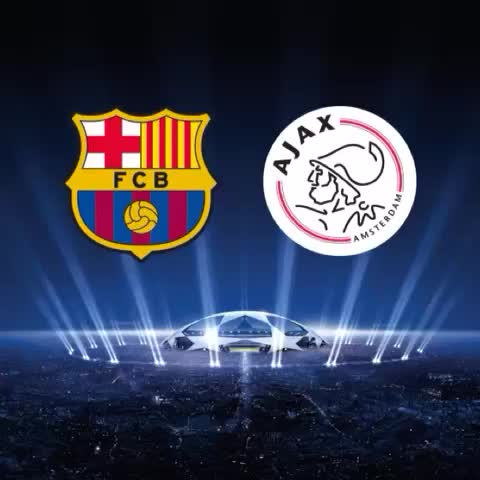 FC Barcelonas post on Vine - #FCBAjax Line-up confirmed! RT to support the team #FCBlive #ucl - FC Barcelonas post on Vine