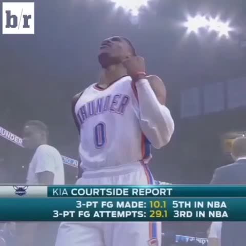 Vine by Bleacher Report - And just like that the Thunder take the lead!