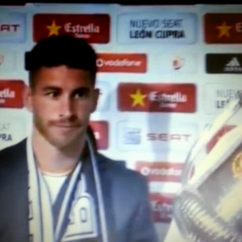 SocialRMadrids post on Vine - I see what you did there, Ramos! - SocialRMadrids post on Vine