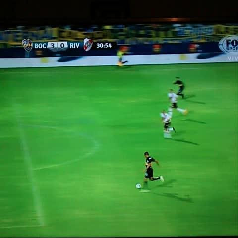 Vine by Boca Juniors - ¡GOOOOOOL DE #BOCA! #Chávez para el 3-0.