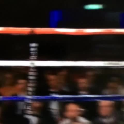 Anthony Joshua TKO1 Sprott #boxing - writeonthebuttons post on Vine