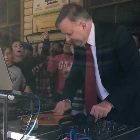 Vine by Josh Butler - How to DJ, Albo-style, with powerful record scratches