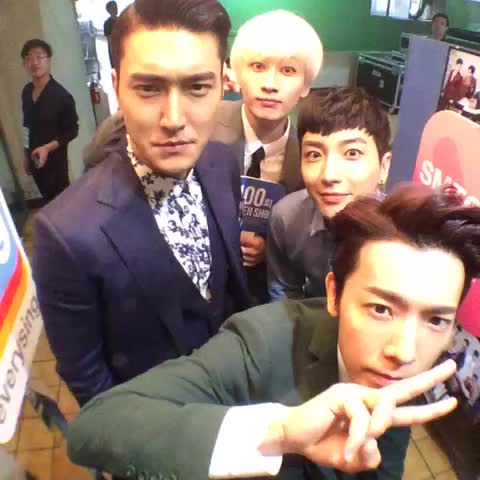 """[#100thSuperShow] #SuperJunior WORLD TOUR """"SUPER SHOW 6"""" with @smtownglobal, LEETEUK DONGHAE SIWON EUNHYUK - SMTOWN GLOBALs post on Vine"""