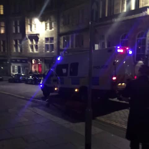 Cockburn Street in edinburgh just now. - Jamie Ryans post on Vine