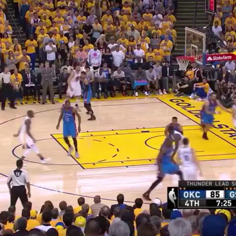 Vine by Bleacher Report - Draymonds kick game is peaking at the wrong time