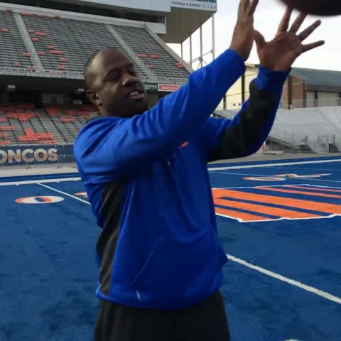D-Coordinator Marcel Yates (@CoachYatesBSU) is ready for another #WorkdayWednesday out on The Blue! #BoiseState #ATF - Boisestaterecruitings post on Vine