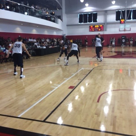 Kyrie Irving finds Gordon Hayward for the jumper at @usabasketballs scrimmage. - NBAs post on Vine