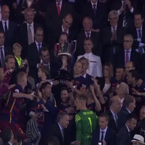 Vine by FC Barcelona - #CampionsFCB Copa del Rey 2015/16