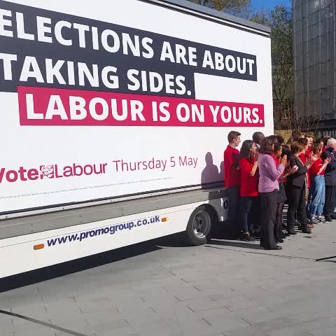 Vine by Jeremy Corbyn MP - We have just launched our new national advert - Elections are about taking sides. Labour is on yours.
