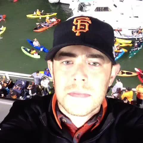 Colin Hankss post on Vine - Lets go San Francisco Giants!!!! - Colin Hankss post on Vine