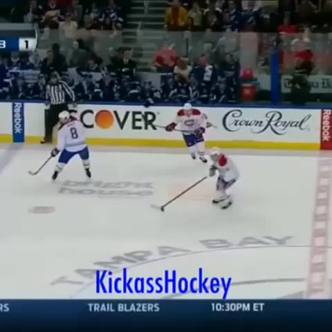 KickassHockeys post on Vine - Plekanec with a beauty top shelf. (2014 Playoffs) #hockey #nhl #playoffs - KickassHockeys post on Vine