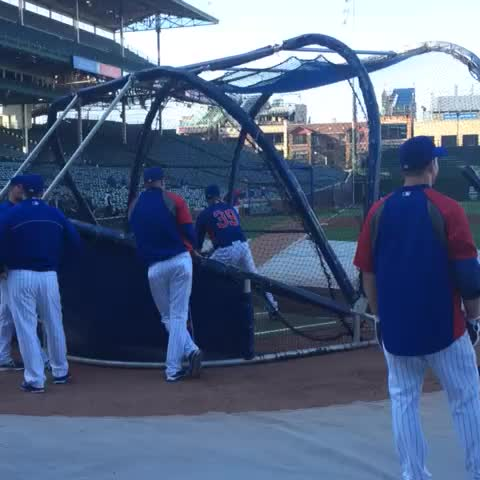 Chicago Cubss post on Vine - #Cubs 2014 first-round pick Kyle Schwarber takes a cut and drives one deep at Wrigley Field in pregame batting practice. - Chicago Cubss post on Vine
