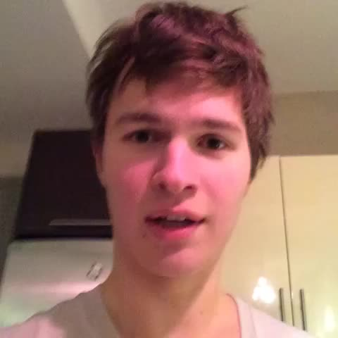 Vine by Ansel Elgort - Just got free chipotle for a year!!! What up son!?!?!