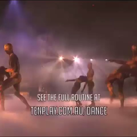 Mesmerizing. Inspiring. Well done, Top 6. #SYTYCDAU @travISova @channingcooke #SYTYCD #TravisWall - SYTYCD Australias post on Vine
