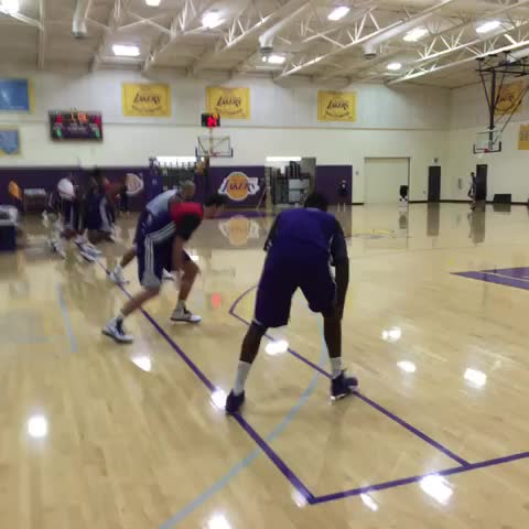 Now its the bigs turn. - Lakerss post on Vine