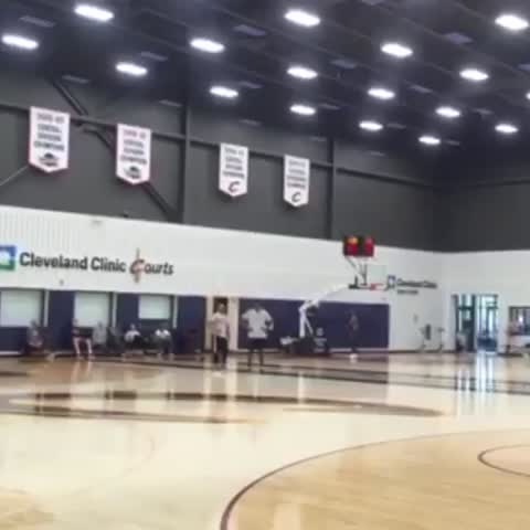 Vine by SportsCenter - The Cavs were playing some football at practice.