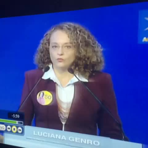 e001s post on Vine - Luciana Genro 🔝 - e001s post on Vine