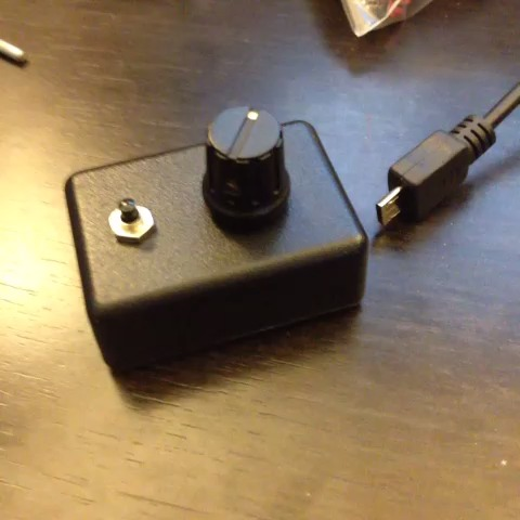 knobber usb midi single knob button controller echolevel. Black Bedroom Furniture Sets. Home Design Ideas