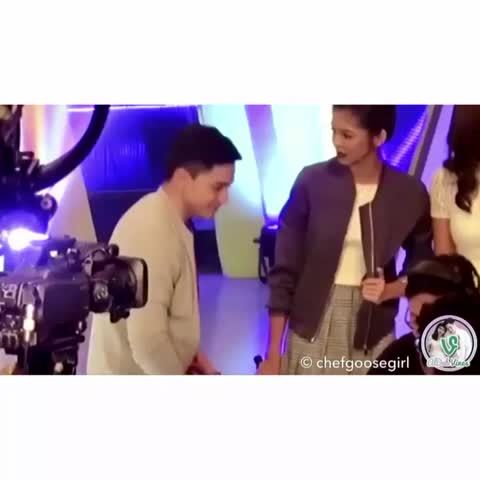 "Vine by ALDUB Vines HD - When youre trying to impress her w/ your dance moves but shes like ""nah I like this better."" 😂 #AlDub #ALDUBAdvocatesOfLove"
