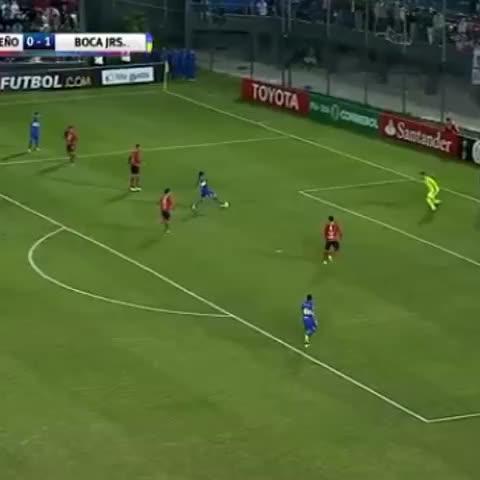 Vine by Boca Juniors - ¡Así fue el gol de #Lodeiro!