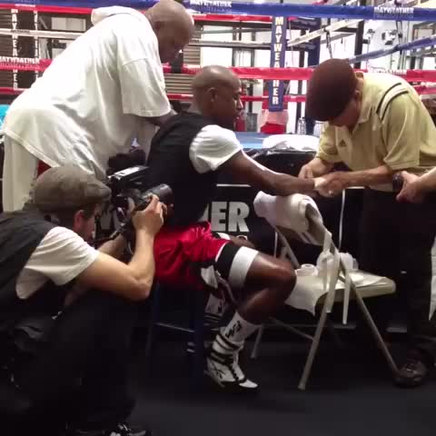 Floyd Mayweathers post on Vine - May 3, 2014 - Floyd Mayweathers post on Vine