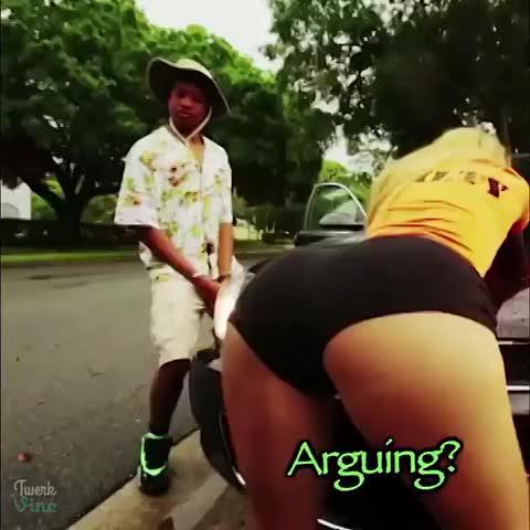 Big booty twerking on my dick reverse cowgirl 2