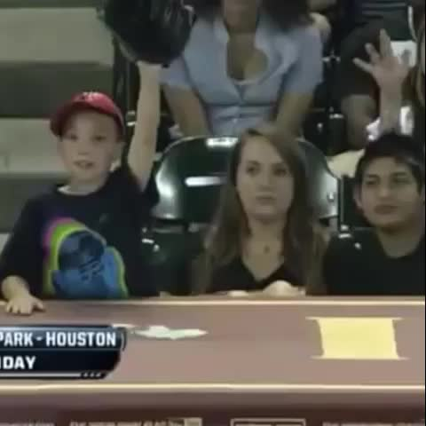 Vine by Awkward Moments - Evil woman steals baseball from little girl then celebrates. #takingcandyfromababy #awkwardmoments