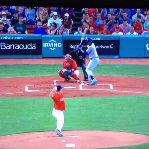 """Vine by Boston Sports Info - Steven Wright throws a """"magic bullet"""" pitch"""