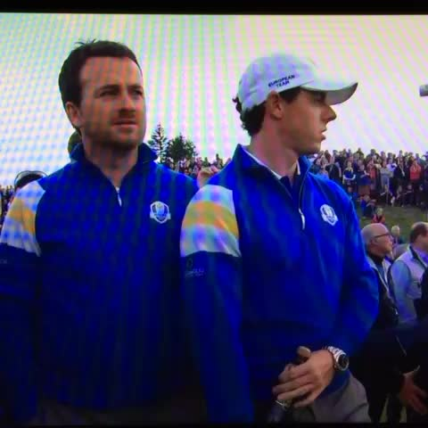 Kevin Rinkers post on Vine - Only bad shot Rory McIlroy made all week! #rydercup - Kevin Rinkers post on Vine