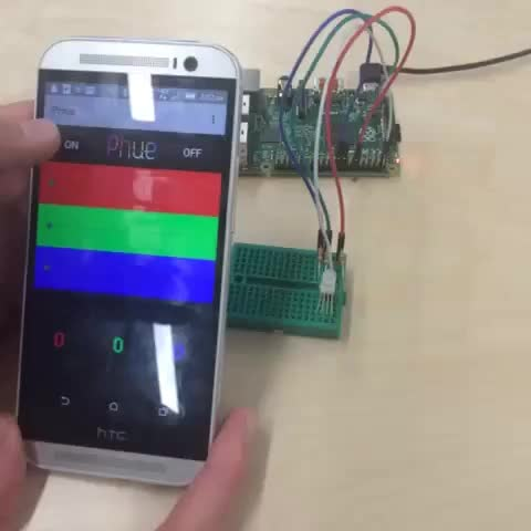 Triggering Raspberry Pi Hue LEDs from Android UI | PubNub