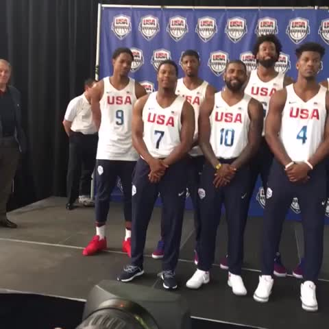 Vine by NBA - The 2016 #USABMNT! #Unite 🇺🇸🏀