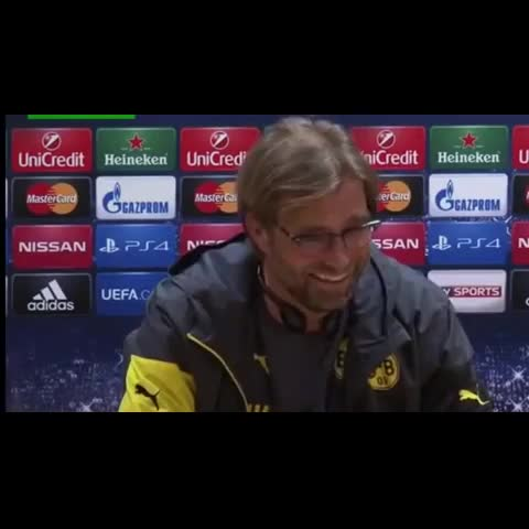 Vine by manboything - Jurgen Klopp laughing