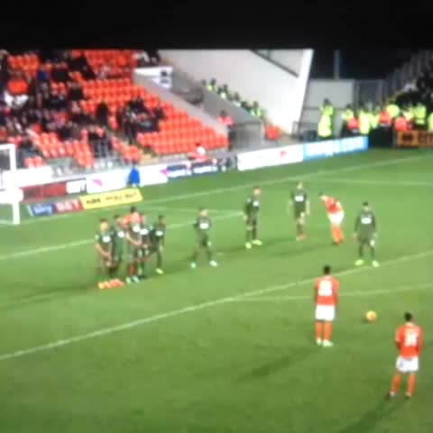 BlackpoolFCViness post on Vine - Jacob Murphys Free Kick - BlackpoolFCViness post on Vine