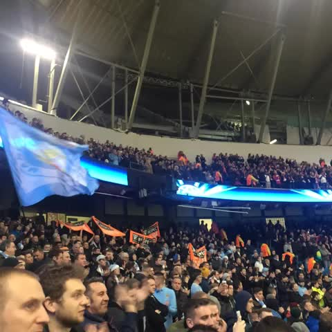 bluemoonrisingtvs post on Vine - UEFA PROTEST: City and Bayern fans protest against UEFA anthem. @1894group_MCFC and @clubnr12 - what you didnt hear on the TV... #mcfc - bluemoonrisingtvs post on Vine