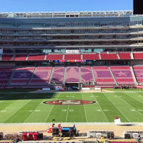 49erss post on Vine - A #SaluteToService card stunt before #WASvsSF. #FortyViners - 49erss post on Vine