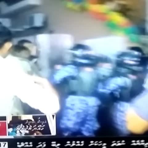 Vine by Badruddeen - Maldives rogue male police pushing women and men mercilessly.  #maldives @hugoswire