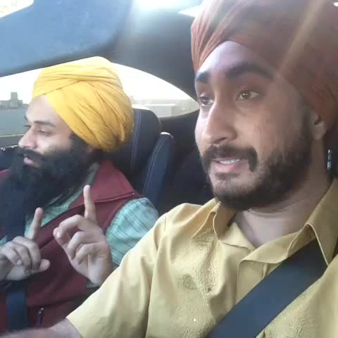 Vine by Jus Reign - Punjabi uncle friends who are listening to hip hop for the first time while they drive to the Dhaliwal family picnic. W/ Babbulicious