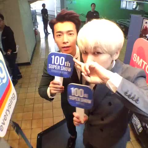 "SMTOWN GLOBALs post on Vine - [#100thSuperShow] #SuperJunior WORLD TOUR ""SUPER SHOW 6"" with @smtownglobal, DONGHAE EUNHYUK - SMTOWN GLOBALs post on Vine"