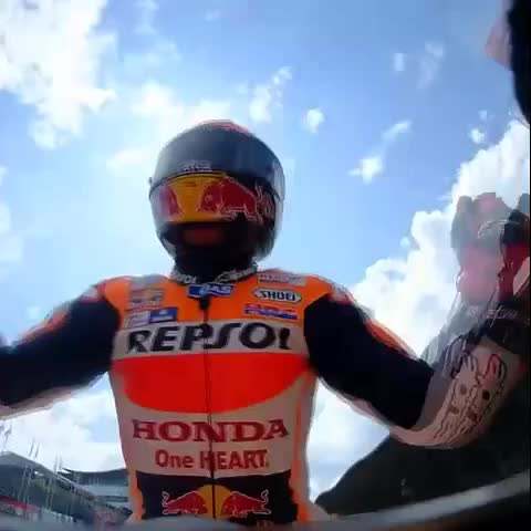 Vine by MotoGP - When you extend your lead in the championship... #DutchGP