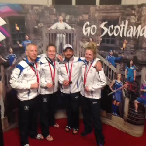 Team Scotlands post on Vine - Judos medalists thank you for your support! #GoScotland - Team Scotlands post on Vine