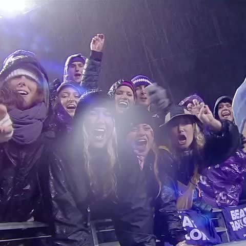 Vine by TCUAthletics - #TBT to the best student section in 🇺🇸 ➡️ @TCUstudentsect