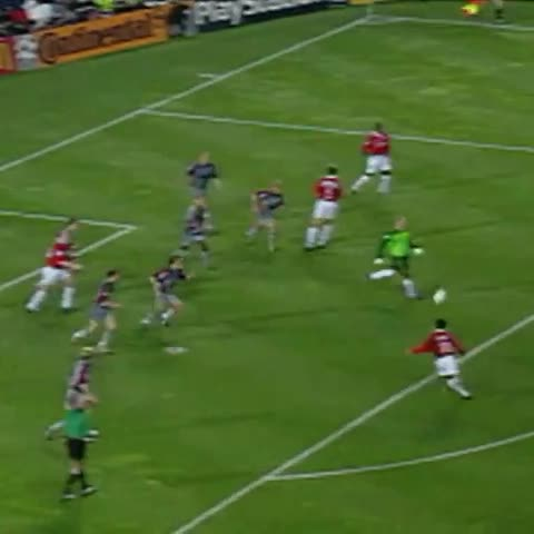 Vine by #Joe - ON THIS DAY in 1999, #mufc won the #ucl final against Bayern Munich