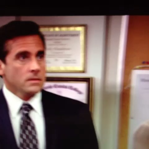 #Lol everyones favorite #TheOffice #NBC #funny #vine #loop - The Offices post on Vine