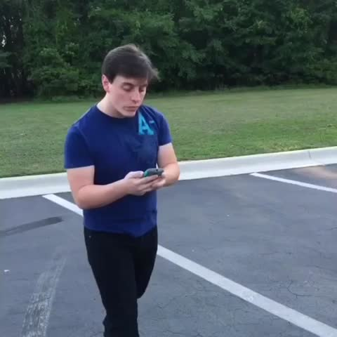 Vine by Thomas Sanders - That Awkward Moment Trying to Cross ???? (W/ Joner-Strokes)